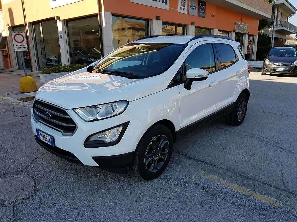 Ford Ecosport 1.0 EcoBoost 125 CV Start&Stop Plus a 14.500€ - immagine 11