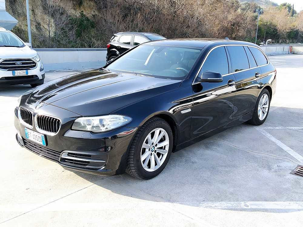 BMW Serie 5 Touring 520d Touring Business aut. a 14.800€ - immagine 11