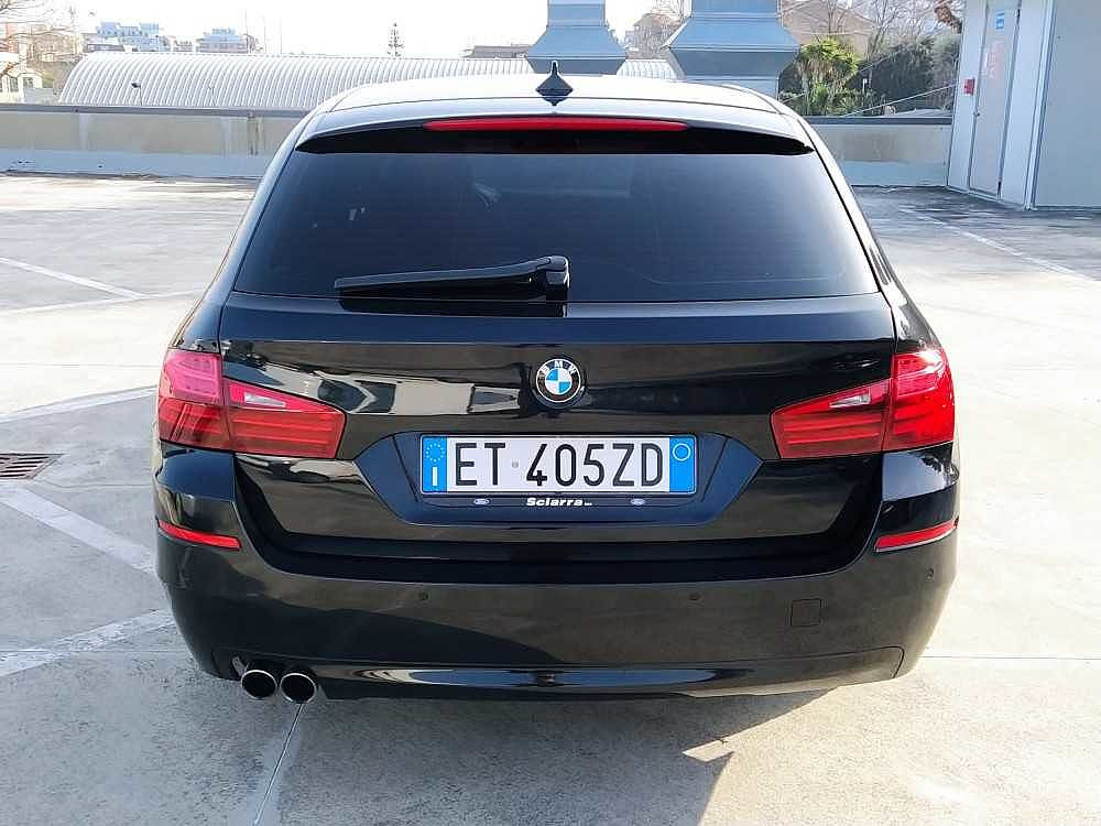BMW Serie 5 Touring 520d Touring Business aut. a 14.800€ - immagine 13