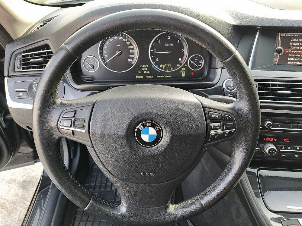 BMW Serie 5 Touring 520d Touring Business aut. a 14.800€ - immagine 17
