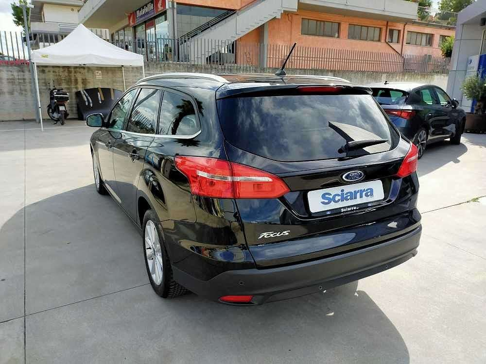 Ford Focus Wagon 1.5 TDCi 120 CV Start&Stop SW Titanium a 14.500€ - immagine 10