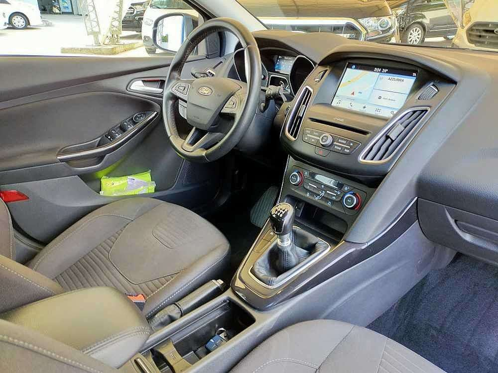 Ford Focus Wagon 1.5 TDCi 120 CV Start&Stop SW Titanium a 14.500€ - immagine 20